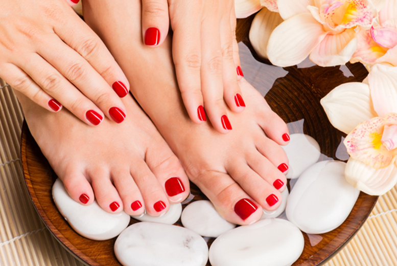 £10 instead of £20 for a CND Shellac manicure or pedicure at Manicured Studio, Stockport - save 50%