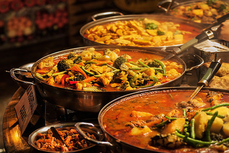 £7.50 instead of £13.50 for a 3-course Indian buffet for 1, £15 for 2 or £30 for 4 people at Bollywood Spice, Derby - save up to 44%