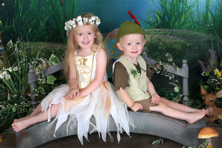 £9 instead of £45 for a fairy or elf photoshoot for up to 2 children at Picture Perfect by Mario, Birchington - save 80%