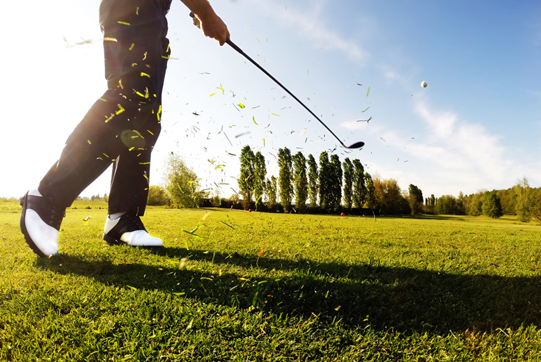 £16 for 18 holes of golf, 40 balls and use of the driving range for two people, or £30 for four at Malkins Bank Golf Club, Cheshire - save up to 50%