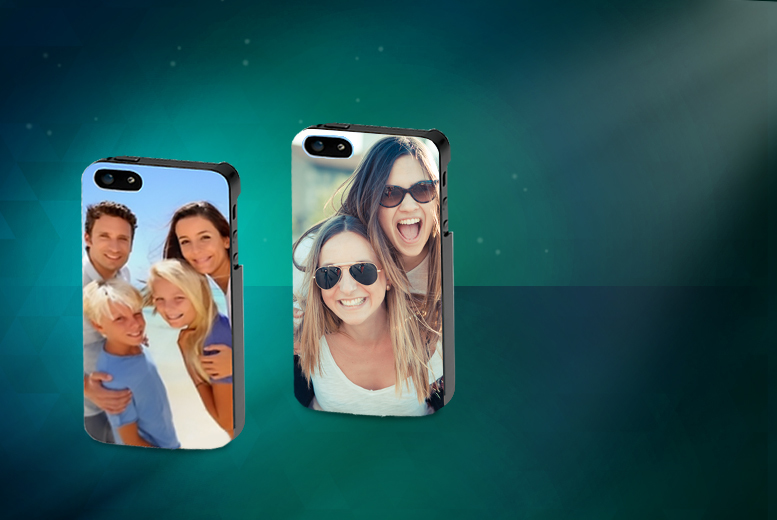 £4.99 instead of £29.99 (from Print My Photo) for a personalised photo iPhone 4/4S or 5/5S case, £6.99 for an iPhone 6 case - save up to 83%