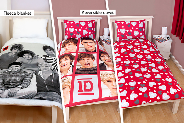Awesome 5pc One Direction Bedroom Set