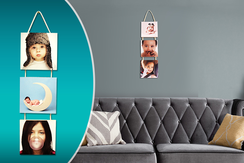 £8 instead of £39.99 (from Your Perfect Canvas) for a 3-piece hanging panel photo canvas - save 80%