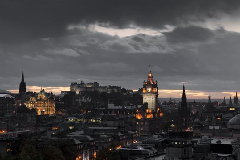 £6 instead of up to £20 for a supernatural Edinburgh ghost tour for 2 from Thistle Knights Tours - save up to 70%