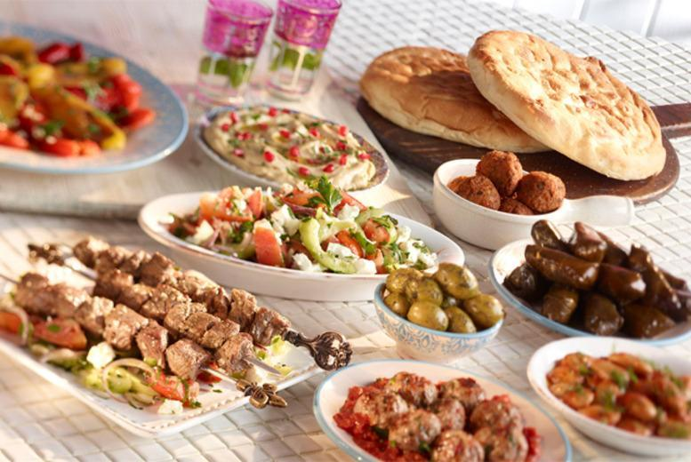 £19 instead of up to £51 for a 2-course Lebanese meal for 2 at Palmyra Restaurant in Kew Gardens, London - save up to 63%