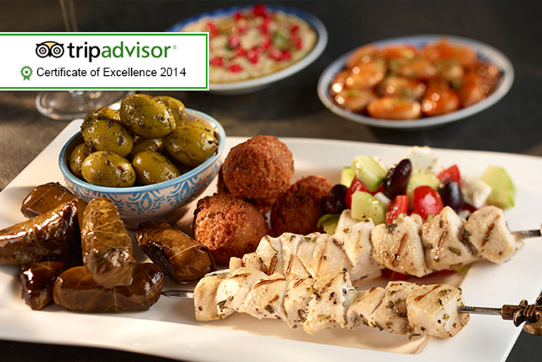£22 instead of up to £51.75 for 8 mezze dishes to share between 2 plus a glass of Prosecco each at Istanbul Barbecue & Bistro - save up to 57%