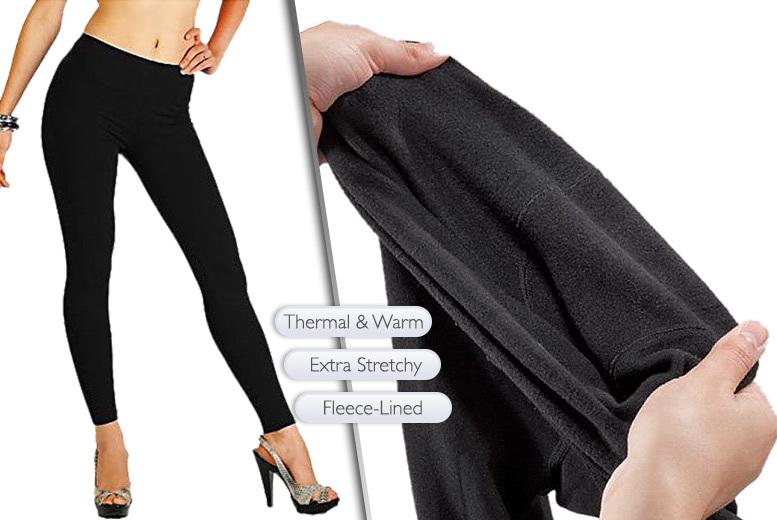 3pk thermal fleece leggings