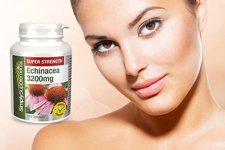 £8 instead of £21.98 (from Simply Supplements) for a supply of 240 echinacea supplements - save 64% + DELIVERY INCLUDED