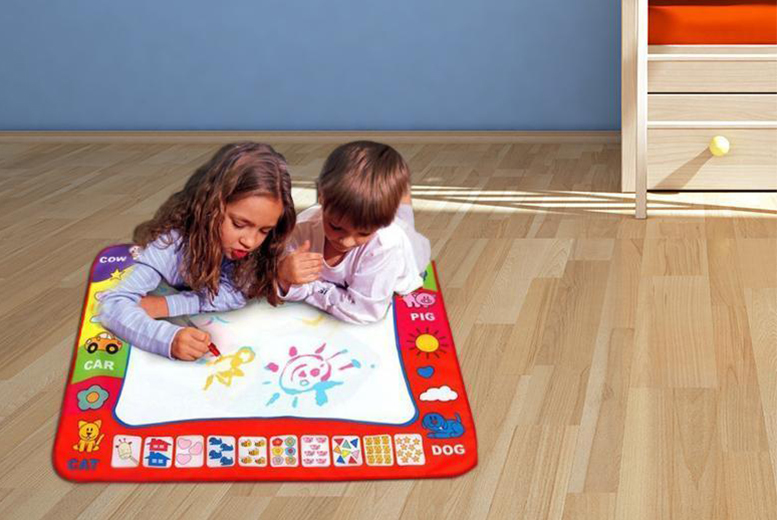£9.99 instead of £48.99 (from The Treasure Chest) for a magic doodle mat and pen - save 80%