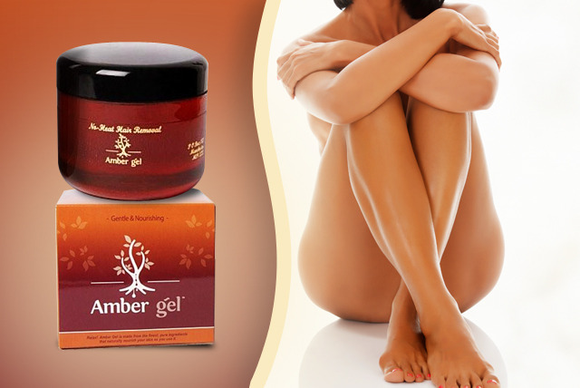 £12 instead of £38 (from Amber Gel) for a 100ml pot of Amber Light 100% natural hair removal treatment - save 68%