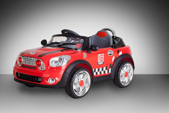 £139.95 (from Netgadgets) for a 2013 Mini Cooper 'Ride on Car' – take things up a gear + FREE DELIVERY