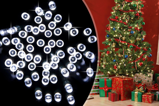 £14 instead of £29.95 (from The Sharper Edge) for a set of white 150 bulb Solar Brite LED fairy lights, or £25 for 2 sets - save up to 53%