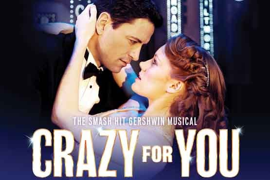 £27 instead of £62.50 for a top price ticket to see Crazy For You at the Novello Theatre in the West End – have a great evening out & save 56%