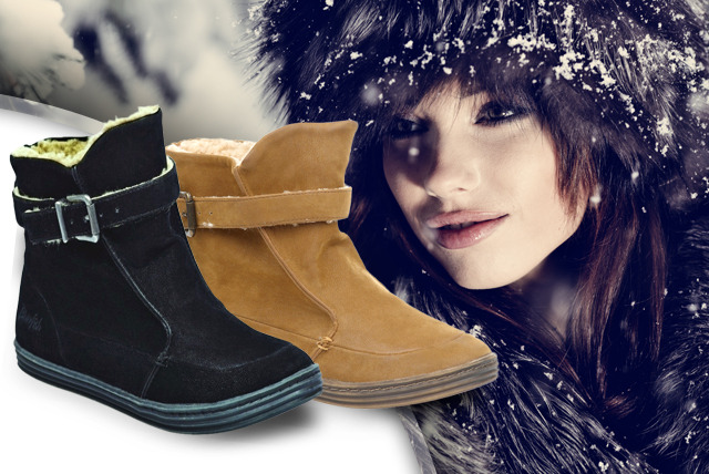 £27.99 instead of £55 (from Mrs Marcos) for a pair of Blowfish Radha ankle boots in black or earth fawn - save 49%
