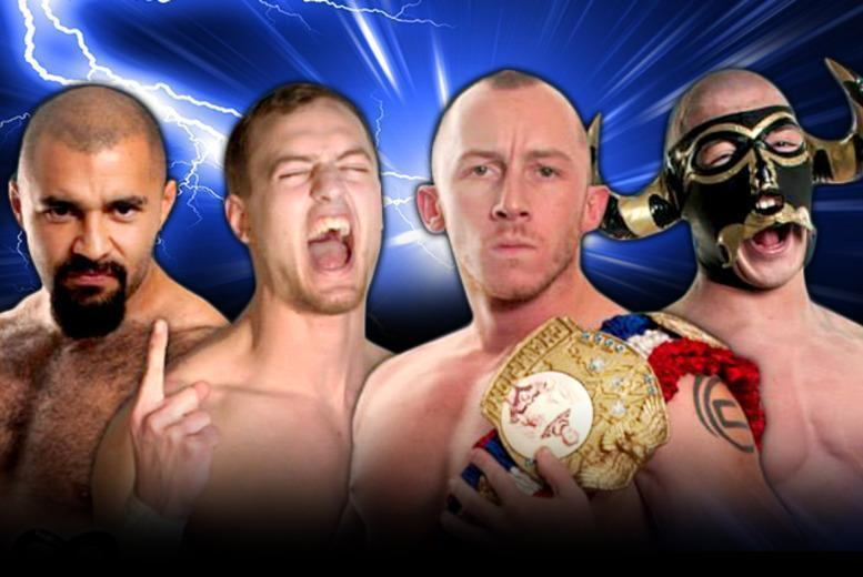 £5 for a ticket to 'A Hard Night's Fight' International Wrestling @ Grand Central Hall, £9 for 2 tickets - save up to 50%