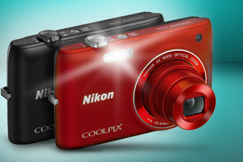 £49 for a refurbished Nikon Coolpix S1450 camera from Wowcher Direct!