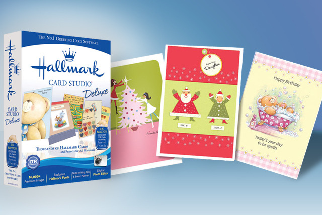£15 instead of £30.62 (from Avanquest) for Hallmark Card Studio Deluxe greeting card design software or £18.99 with 20 blank cards - save up to 51%