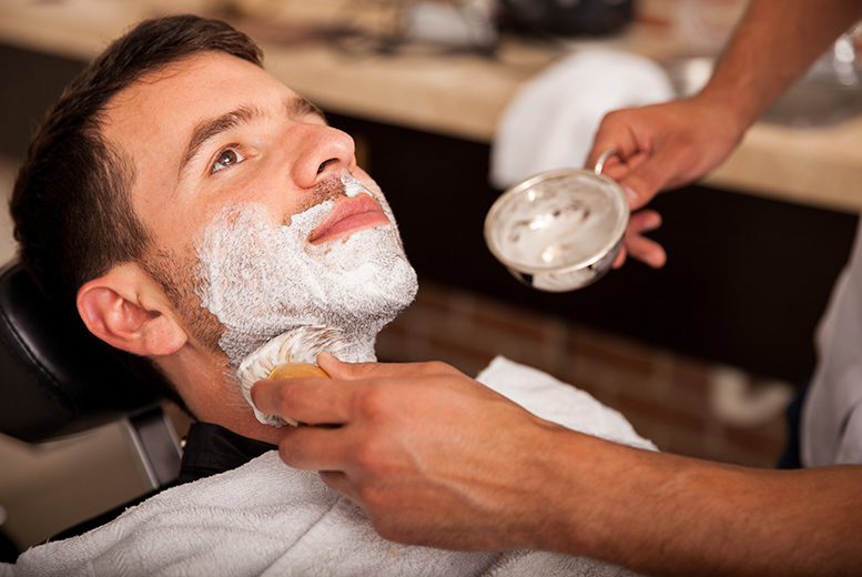 £14 for a shave, £17 for a cut and style, £24 for both, £29 inc. a scalp massage and beard trim at Mr Rizzo, Covent Garden - save up to 67%