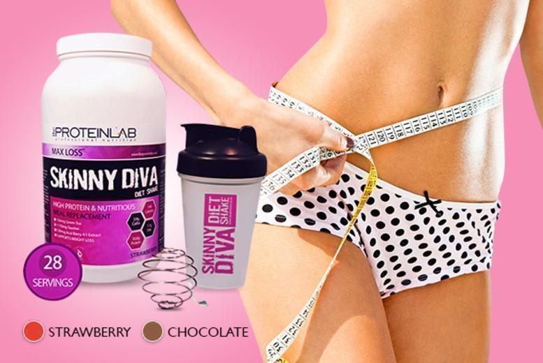 £19 instead of £39.99 (from The Protein Lab) for a 4-week* supply of meal replacement shake mix and a shaker, £32 for an 8-week* supply - save up to 52%
