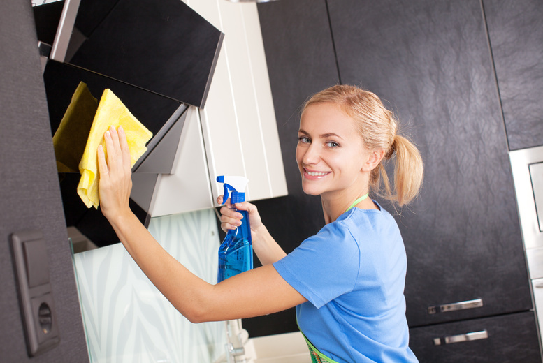 £19 for four hours of domestic cleaning from Angel Maids The Cleaners, Glasgow
