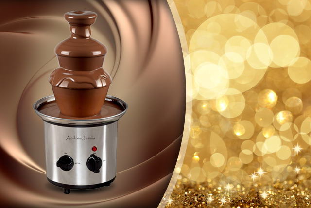 £19.99 instead of £29.95 (from Andrew James) for a premium stainless steel chocolate fountain - save 33%
