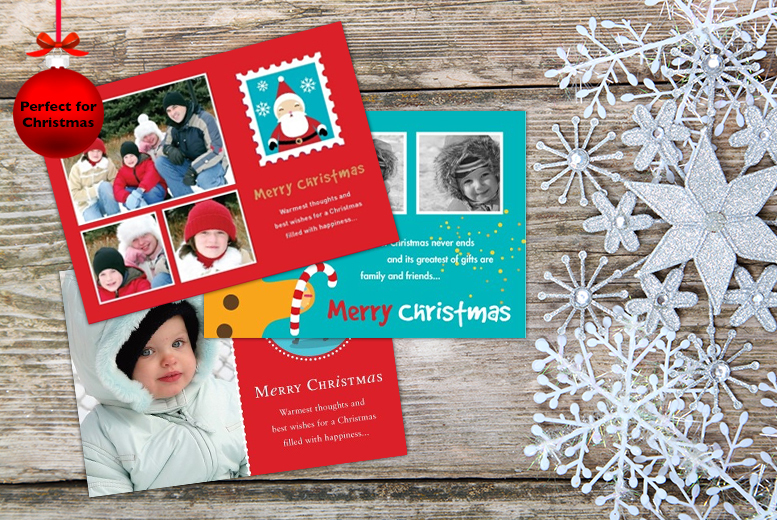 £8.99 (from Frame My Name) for 20 personalised Christmas cards, £11.99 for 30 or £14.99 for 40 - save up to 59%