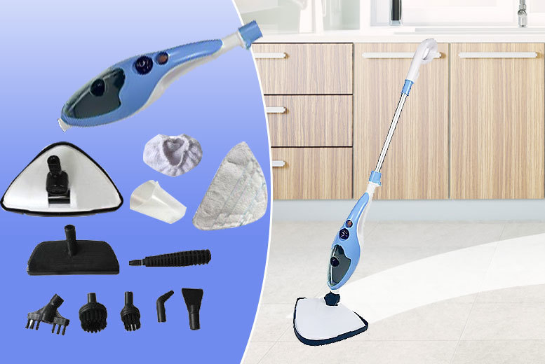 10-in-1 Pro-Steam Mop