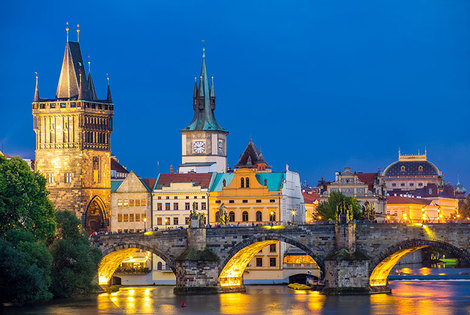 From £109pp (from Crystal Travel) for a four-night Berlin and Prague break with flights and train transfers, from £169pp for a six-night break - save up to 63%