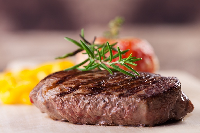 £22 for a chargrilled flat iron steak and hand-cut fries meal with cocktails for two, £43 for four at the Whistle Stop Barber Shop, Edinburgh - save up to 52%