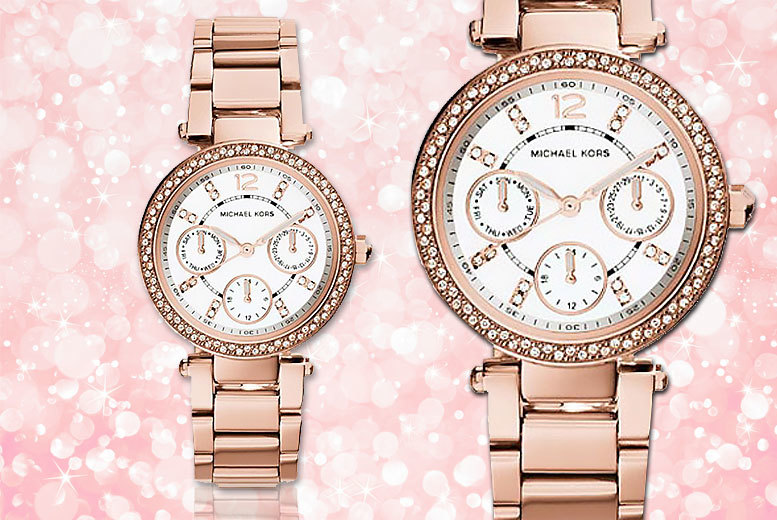 £119 instead of £222.01 (from Gray Kingdom) for a rose gold-plated Michael Kors 'Mini Parker' MK5616 watch - save 46%