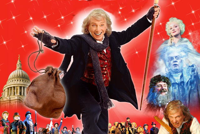£27.50 instead of £57 for a top price 'stall or royal circle' ticket to see Scrooge the musical, starring Tommy Steele at the London Palladium - save 52%