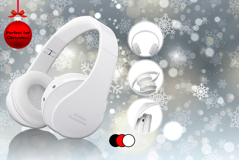 £19.99 instead of £99.99 (from D2D) for a pair of wireless Bluetooth over ear headphones - choose from 3 colours & save 80%