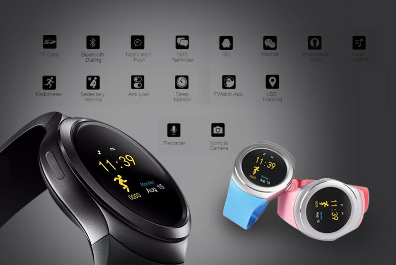 16-in-1 i-touch Pro Bluetooth Smartwatch