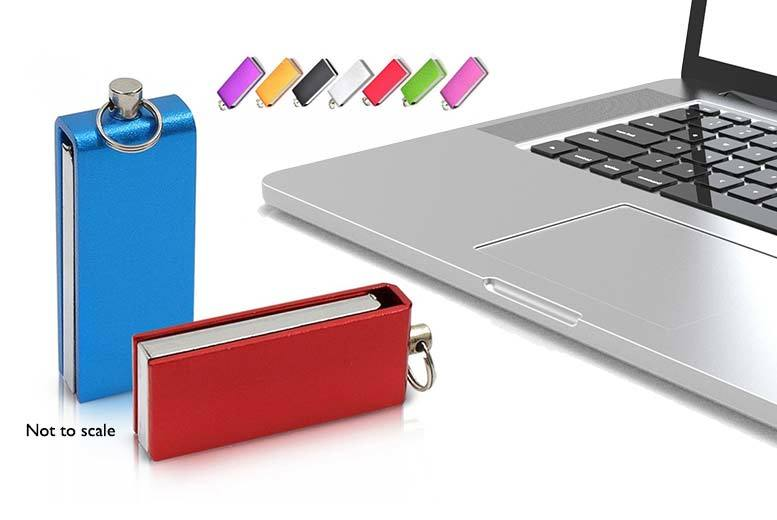 £5.99 instead of £22 (from EFMall) for a 64GB USB stick - choose from black, blue, gold, green, pink, purple, red and silver and save 73%