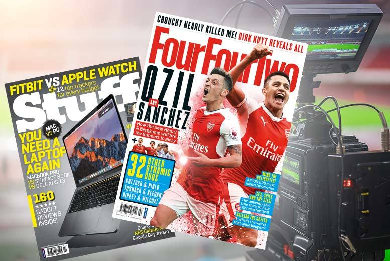 £19 instead of £59.88 (from Haymarket) for a 12-month magazine subscription to Stuff or FourFourTwo - save 68%
