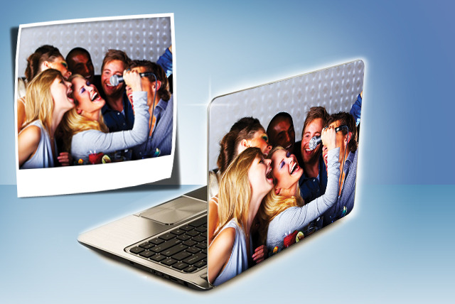£8.99 instead of £24.99 (from Spicy Décor) for a personalised laptop skin – stand out from the crowd and create your own laptop skin and save 64%