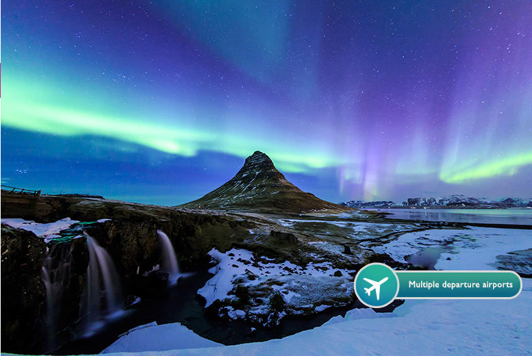 From £129pp (from ClearSky Holidays) for a two-night Iceland break including flights, from £199pp for a three-night stay or from £249pp for four nights - save up to 43%