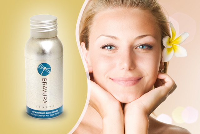 £19.99 instead of £41.99 (from Bravura London) for a 50ml bottle of Hyaluronic Acid serum - save 53%