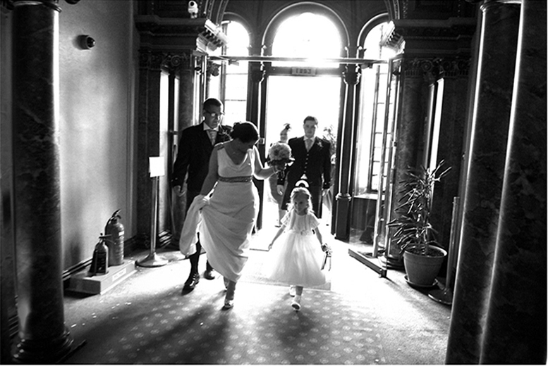 """£299 for a 6-hour wedding photography package inc. 7"""" x 7"""" album, online gallery and DVD slideshow from Chris Wallace Photography, Glasgow - save 65%"""