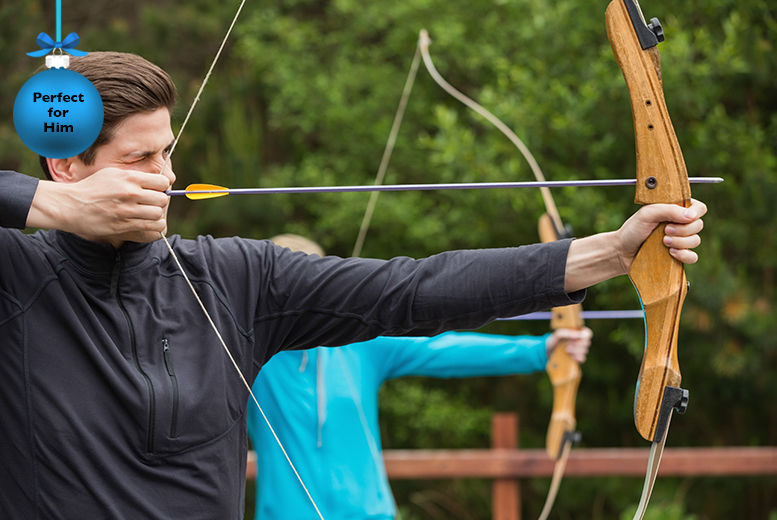 £29 instead of £66 for a 3-hour activity experience inc. axe throwing, crossbow shooting and archery at On Targett Events, Milton Keynes - save 56%