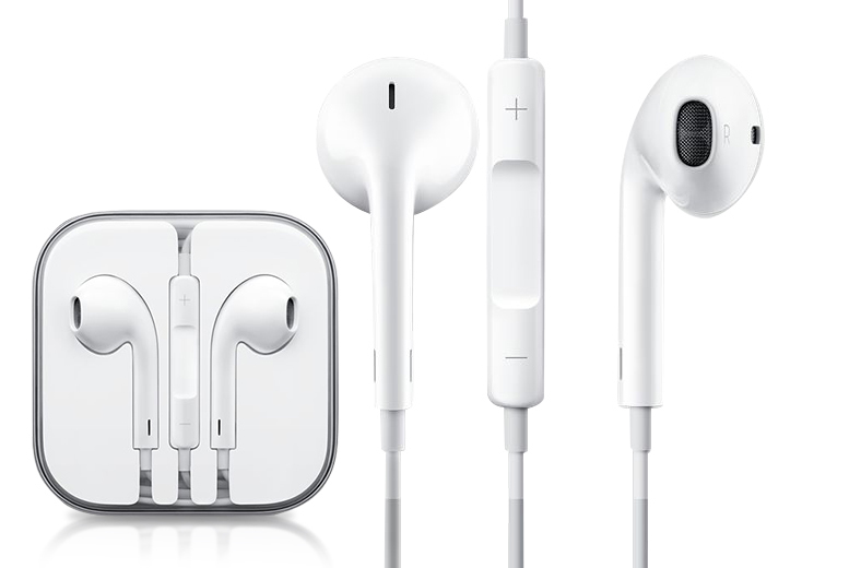 £7.99 instead of £15.66 (from HandTec) for a pair of Apple EarPods with built-in mic, remote and 3.5mm headphone plug - save 49%