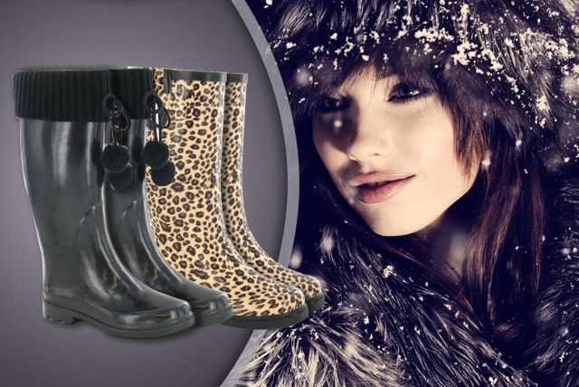 £15 instead of £60 (from Style Potential) for a pair of women's designer wellies in one of 8 stylish designs - save 75%