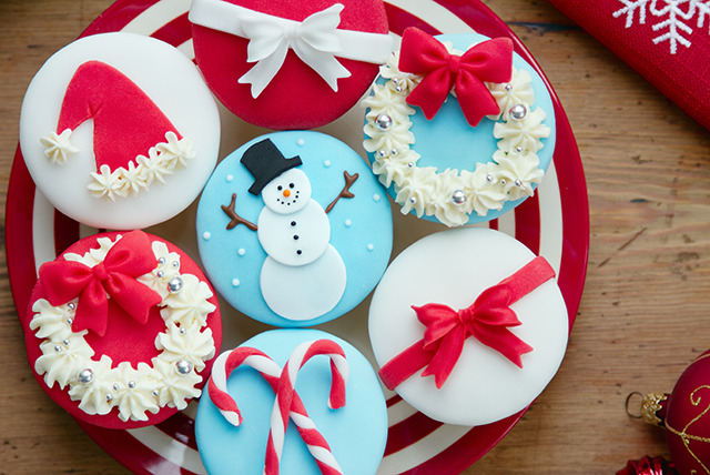 £28 instead of £60 for a 2-hour festive cupcake decorating class at The Cocoa Box - save 53%