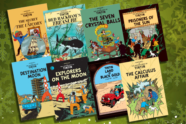 £11 instead of £23.97 (from KidsIQBooks) for The Adventures of Tintin 3-book collection or £29 for one of two 8-book collections - save up to 54%