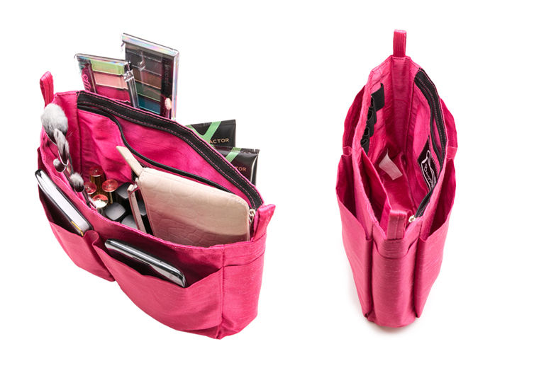 £3.99 instead of £9.99 for a handbag organiser with seven pockets, one zip pocket and elastic makeup belt from Ckent Ltd - save up to 60%