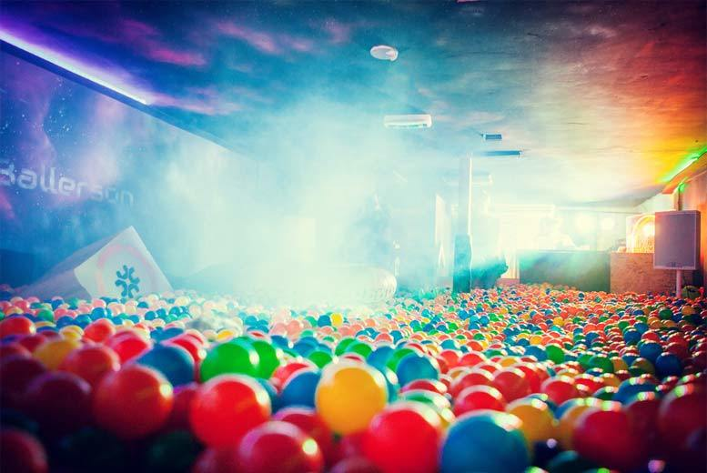 £10 for ball pit entry and alcoholic shot for one, £19.90 for two people or £39.90 for four at Ballie Ballerson, Dalston - save up to 50%