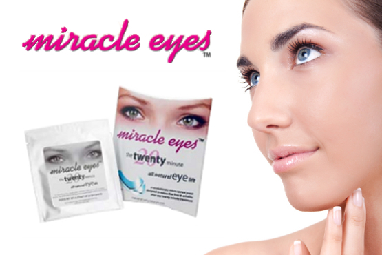 £9.99 instead of £49.99 for 5 sets of Miracle Eyes™ Micro Current Eye Contour Patches – make micro-technology work for you & save 80%