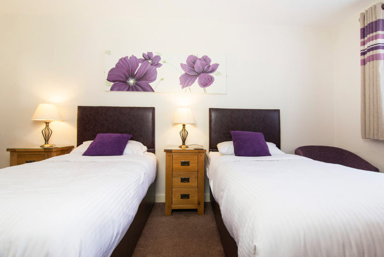 From £69 (at The New Inn Hotel) for a stay for two with breakfast and three-course carvery, from £119 for two nights - save up to 65%