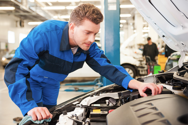 £39 instead of £169 for a 50-point car service with oil and filter change at S Donnan and Son, Newtownards - save 77%