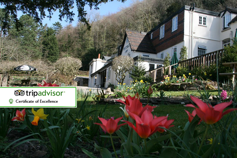 £89 (at The Royal Lodge, Herefordshire) for a two-night Wye Valley stay for two people and full English breakfast - save up to 48%